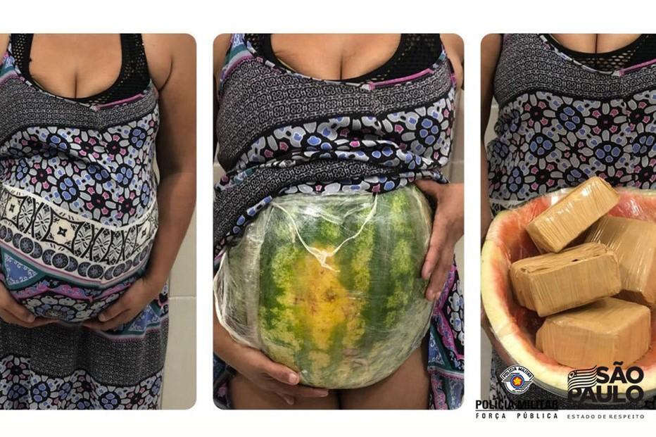Simulaba estar embarazada, pero en realidad era una mula que transportaba cocaína escondida en su vientre